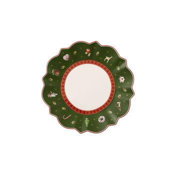 Toy's Delight talerzyk do pieczywa zielony