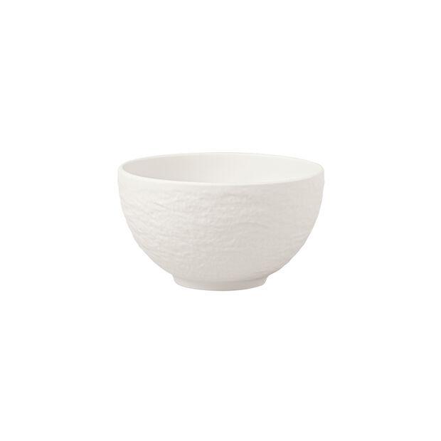 Manufacture Rock blanc Rice bowl 13x13x6,6cm, , large