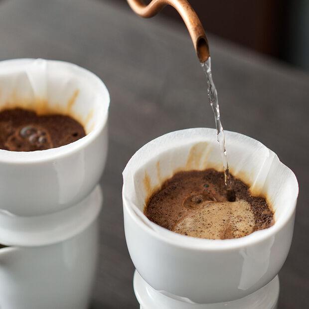 Coffee Passion dwuścienny dzbanek do kawy z pokrywką, , large