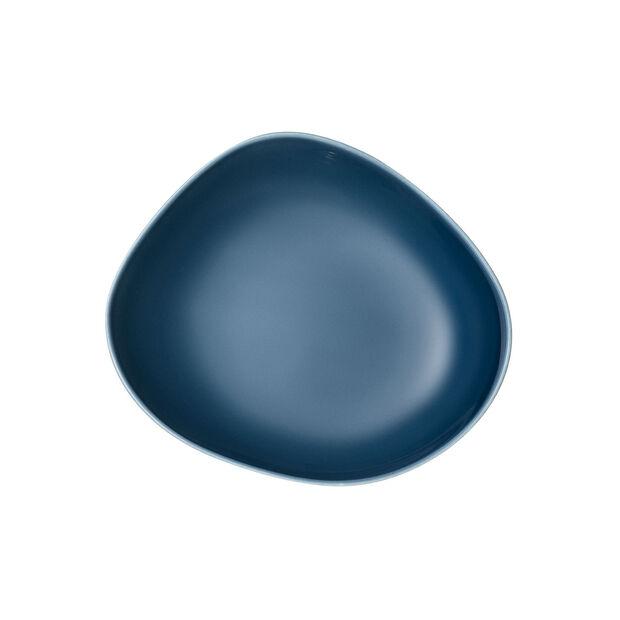 Organic Turquoise głęboki talerz, turkusowy, 20 cm, , large