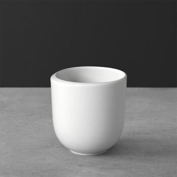 NewMoon kubek do kawy, bez ucha, 390 ml, biały
