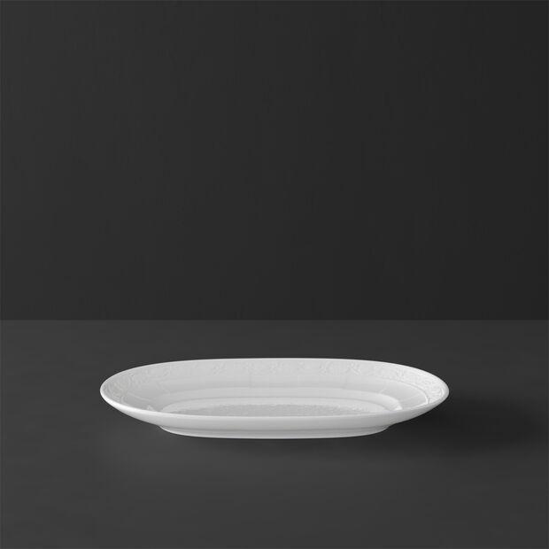 White Pearl Talerz Pikle/Podst.do sosjerki 22cm 22cm, , large