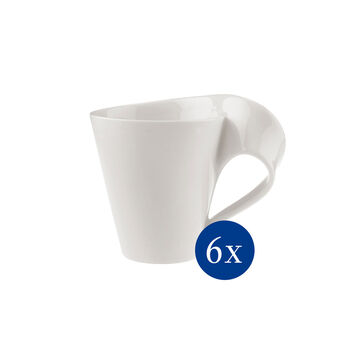 NewWave Caffè kubek do kawy, 300 ml, 6szt.