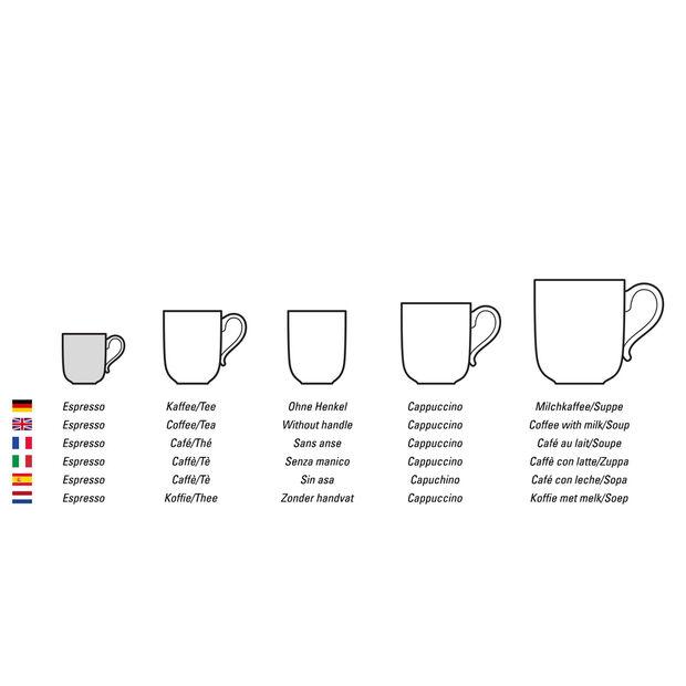 Colourful Life Cosy Grey filiżanka do espresso/mokki, , large
