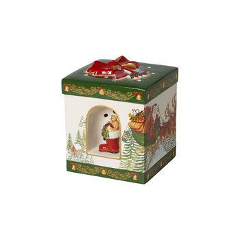 Christmas Toys Pudełko duże, kwadrat., Św. Mikołaja 16x16x20cm