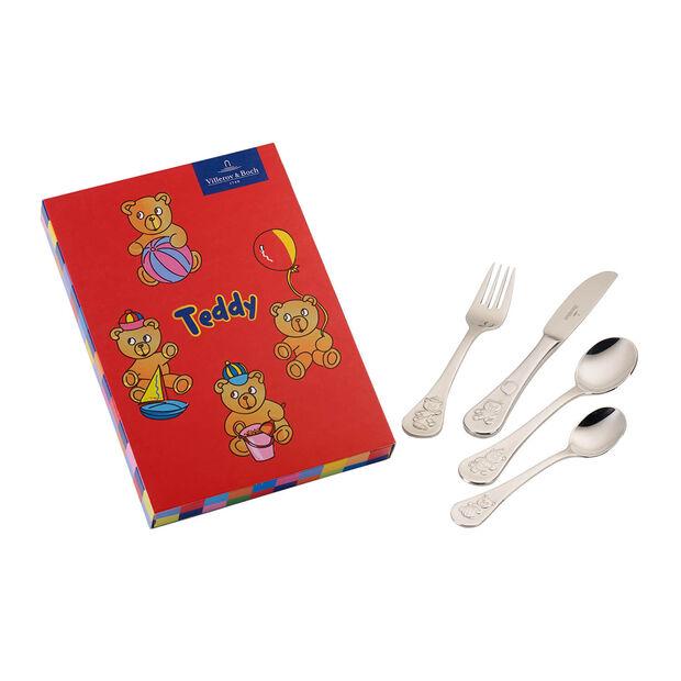 Teddy sztućce dla dzieci 4el. 21,5x15x2,5cm, , large