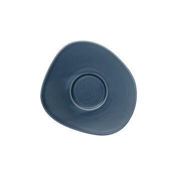 Organic Turquoise spodek do filiżanki do kawy, turkusowy, 17,5 cm