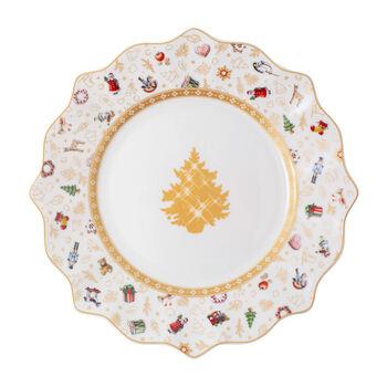 Toy's Delight talerz śniadaniowy, edycja jubileuszowa, kolorowy/złoty/biały