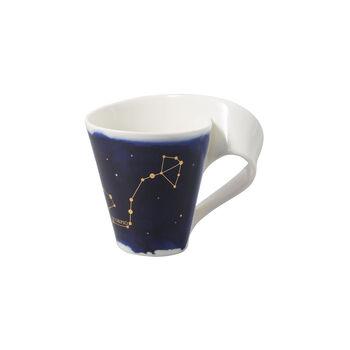 NewWave Stars kubek Skorpion, 300 ml, niebieski/biały