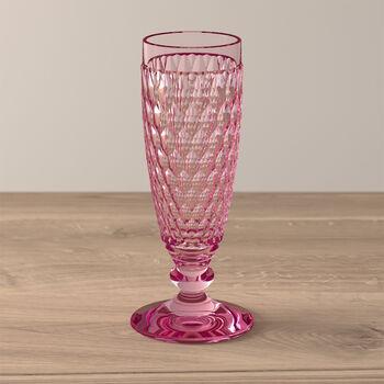 Boston Coloured Kieliszek do szampana różowy