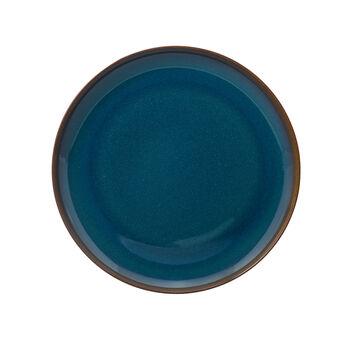 Crafted Denim talerz płaski, niebieski, 26 cm