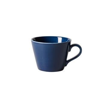 Organic Dark Blue filiżanka do kawy, ciemnoniebieska, 270 ml