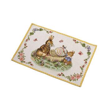 Spring Fantasy gobelinowe podkładki stołowe dziadek i Max, 32 x 48 cm, kolorowe