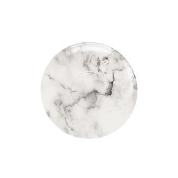 Marmory spodek do filiżanki do kawy White, 16x16x2cm