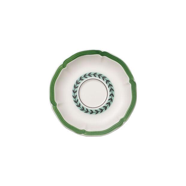 French Garden Green Line spodek do filiżanki śniadaniowej, , large