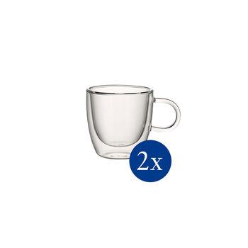 Artesano Hot&Cold Beverages Szklanka z uchem S set 2 pcs. 68mm