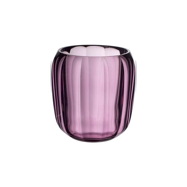 Coloured DeLight szklany świecznik Noble Rose, , large