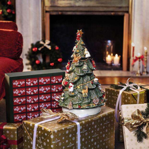 Christmas Toys Memory Kalendarz adwentowy 3D choinka 25x32x43cm, , large