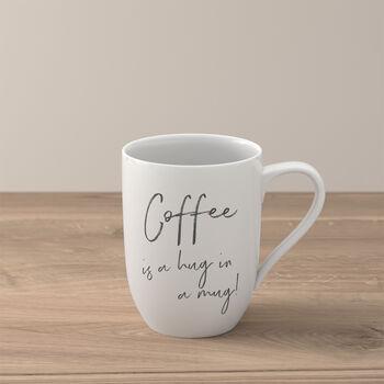 "Statement kubek ""Coffee is a hug in a mug"""