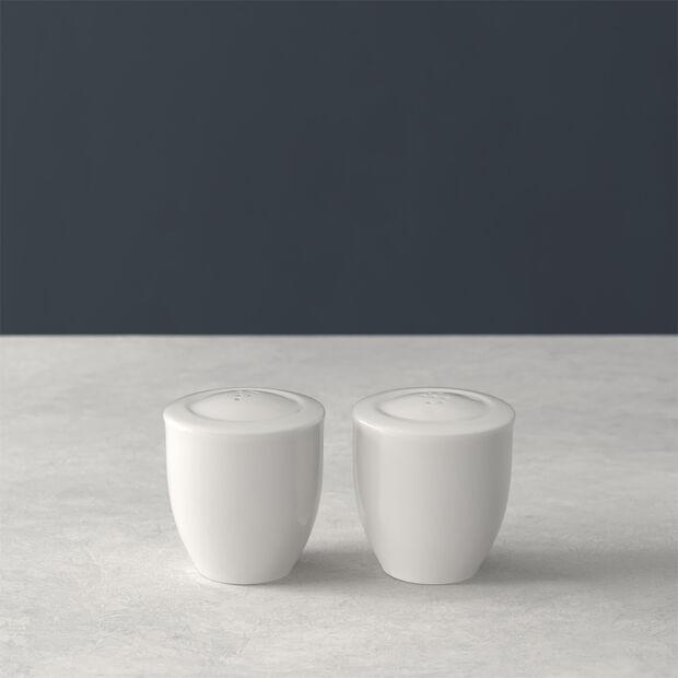For Me solniczka i pieprzniczka, biała, zestaw 2-częściowy, , large