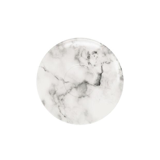 Marmory spodek do filiżanki do kawy White, 16x16x2cm, , large