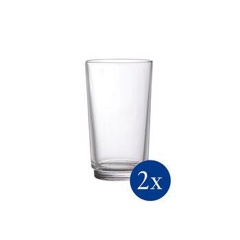 like by Villeroy & Boch it's my match zestaw szklanek do long drinków, przezroczysty, 8 x 14 cm, 2-częściowy
