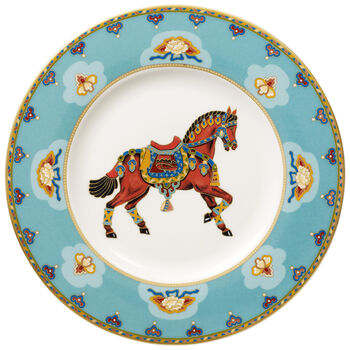 Samarkand Aquamarin talerz śniadaniowy