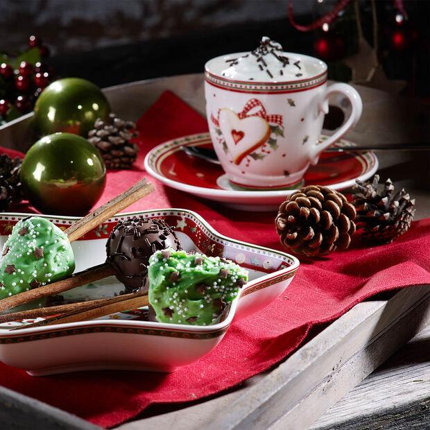 Winter Bakery Delight spodek do filiżanki do kawy, , large