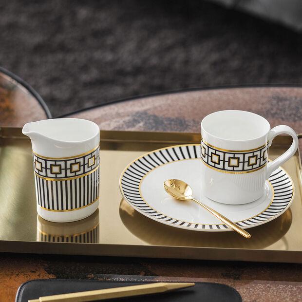 MetroChic Spodek do filiżanki do espresso 14,5x14,5x1,5cm, , large
