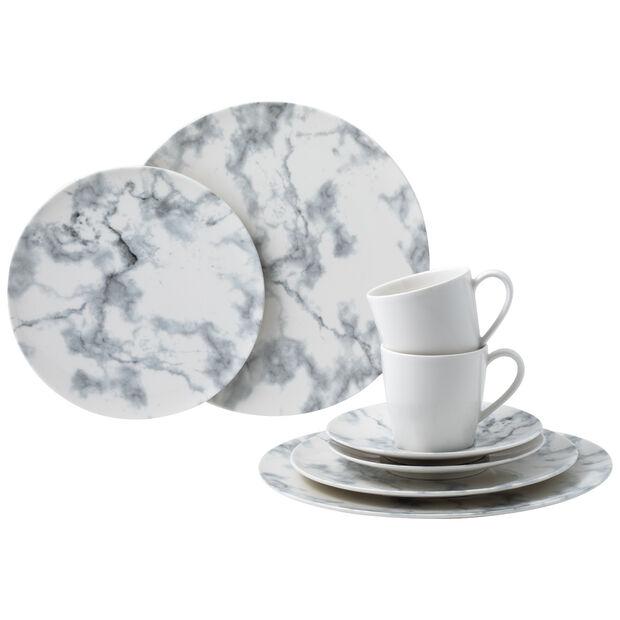 Marmory zestaw łączony White, biały, 8-częściowy, , large