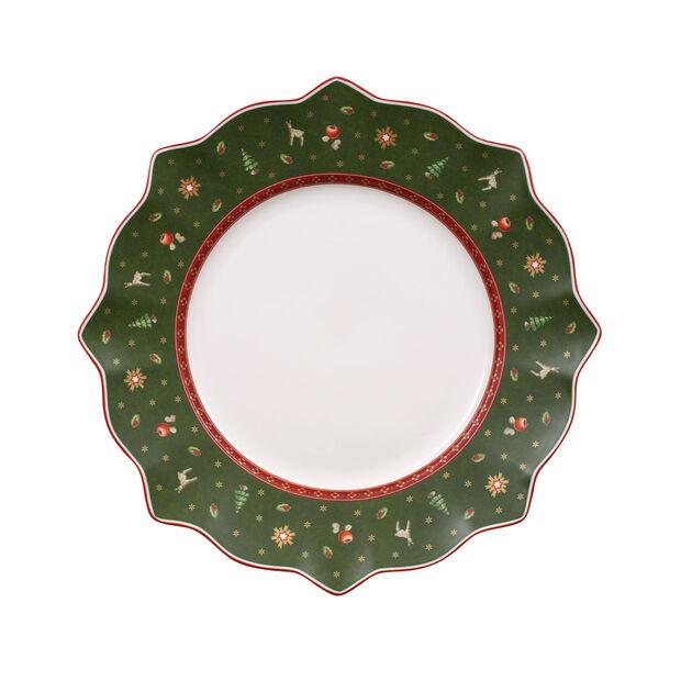 Toy's Delight talerz płaski zielony, , large