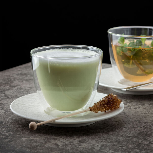 Manufacture Rock Blanc spodek do filiżanki do espresso, 12 cm, , large