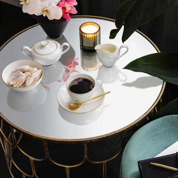 Anmut Gold filiżanka do kawy, biała/złota, , large