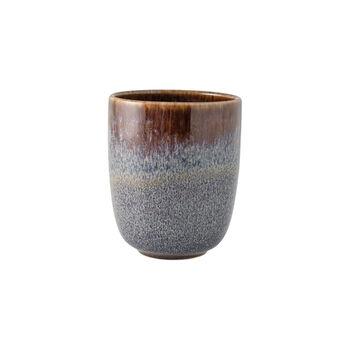Lave Beige kubek bez ucha, beżowy, 9 x 9 x 10,5 cm, 400 ml