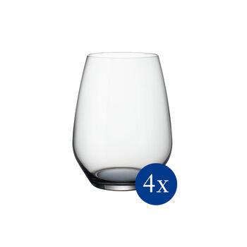 Colourful Life Cosy Grey zestaw szklanek do koktajli/wody 4-częściowy