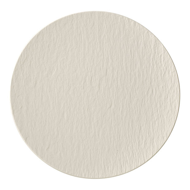 Manufacture Rock blanc Talerz gourmet 31,5x31,5x2,5cm, , large