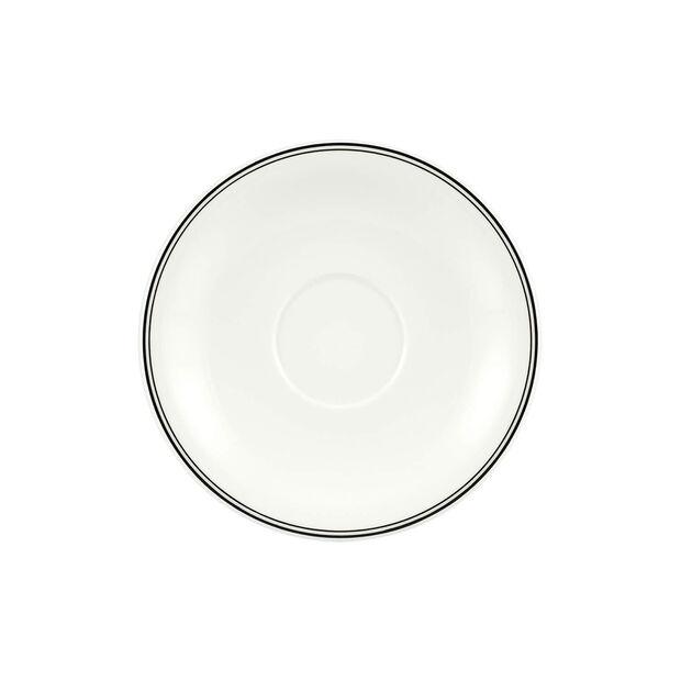 Charm & Breakfast Design Naif spodek do filiżanki do białej kawy XL 20cm, , large