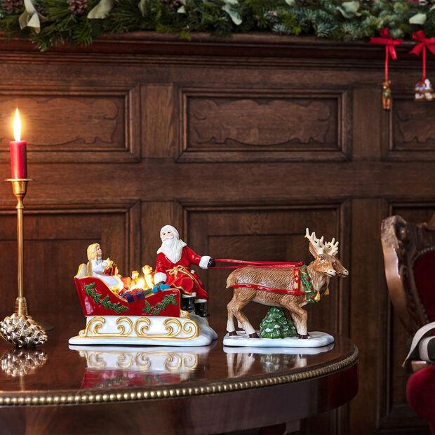 Christmas Toys sanie nostalgia, 36 x 14 x 17 cm, , large
