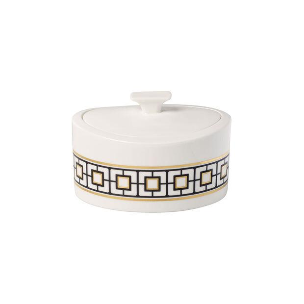 MetroChic Gifts Pojemnik porcelanowy 16x13x10cm, , large