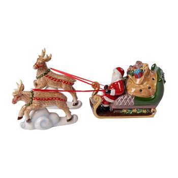 Christmas Toys Sanki North Pole Express 36x14x17cm