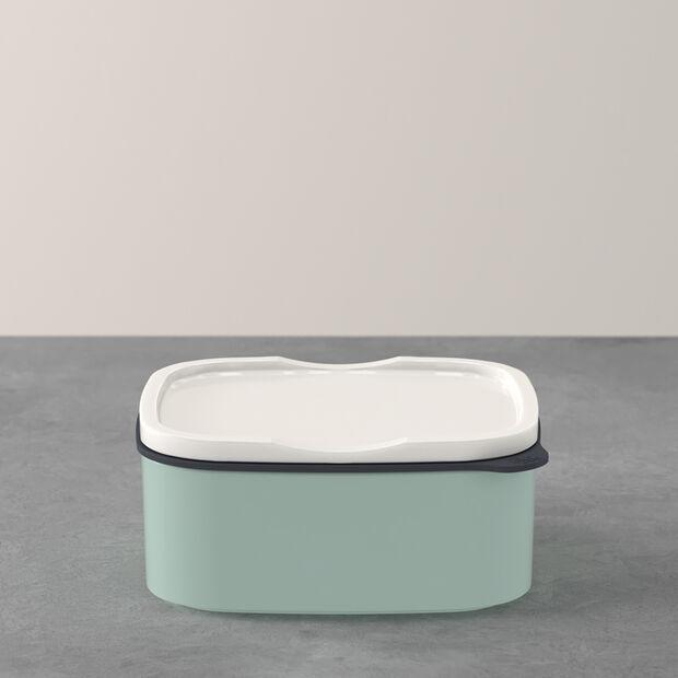 ToGo&ToStay pojemnik na lunch, 13x10x6 cm, prostokątny, miętowy, , large