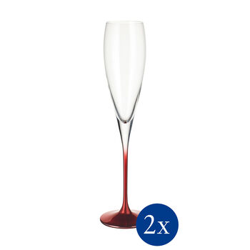 Allegorie Premium Rosewood kieliszek do szampana zestaw 2-częściowy 300mm