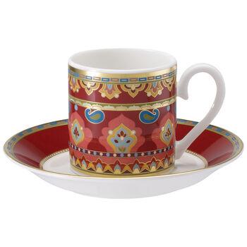Samarkand Rubin Filiżanka espresso&spod.