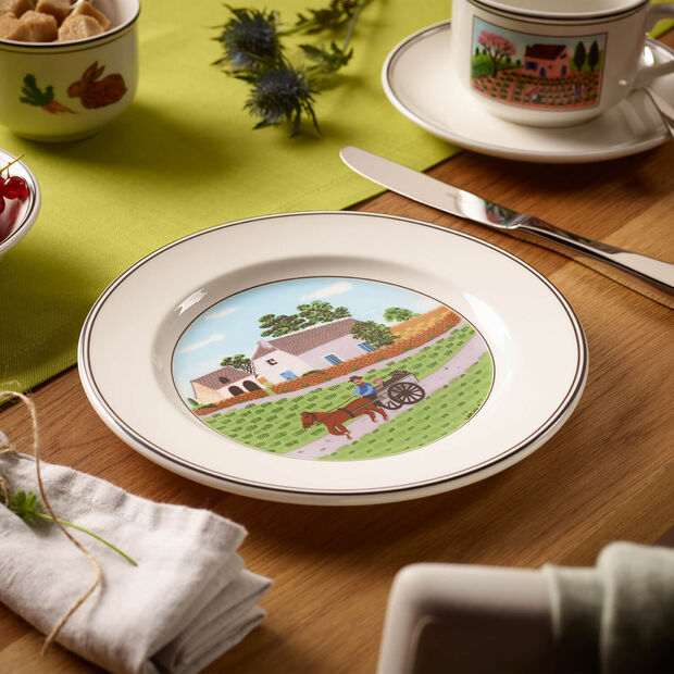 Design Naif talerz śniadaniowy rolnik, , large