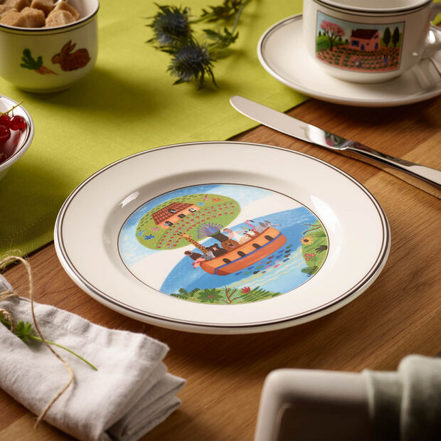 Design Naif talerz śniadaniowy Arka Noego, , large