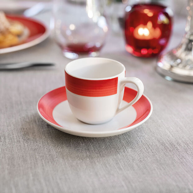 Colourful Life Deep Red Spodek filiż.espresso 12cm, , large