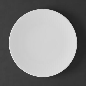 MetroChic blanc Talerz obiadowy 27x27x2cm