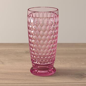 Boston Coloured Szklanka long drink różowa