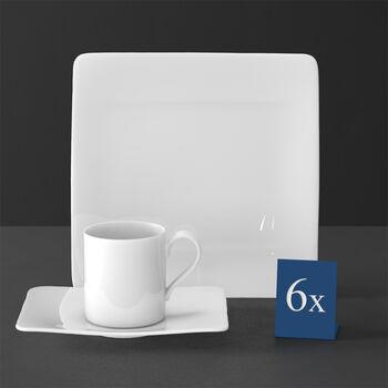 Modern Grace zestaw do kawy 18-częściowy