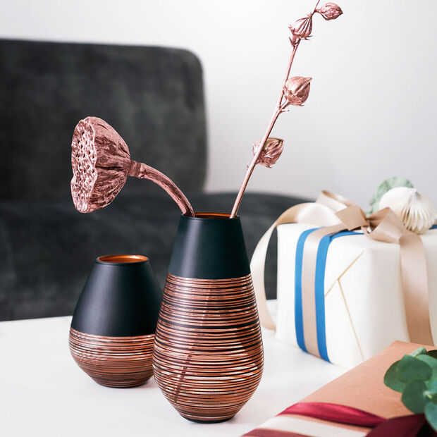 Manufacture Swirl duży wazon na jeden kwiat, , large